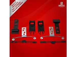 BSR511:4 Parts Sunroof Repair Set for BMW E46: 54138246027 1998-2004