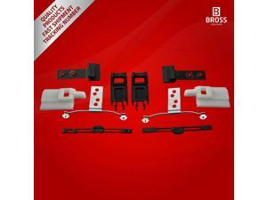 BSR512:4 Parts Sunroof Repair Set for BMW E46: 54138246027 1998-2004