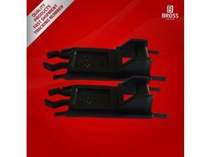 BSR10:2 Pieces Sunroof Slider Rail Repair Plastic Clips for BMW E36 E39 E53  E46, 3, 5, 7, Series M3