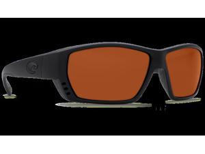 Costa Del Mar Tuna Alley Blackout Square Sunglasses Copper Lens 580P