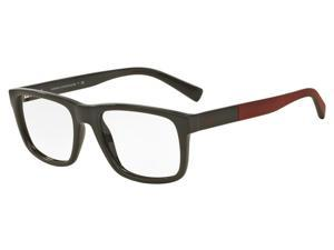 Exchange Armani 0AX3025F Optical Full Rim Square Mens Sunglasses - Size - 53 (Olive / Transparent)