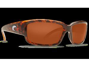 Costa Del Mar Caballito Tortoise Sunglasses Copper Lens 580P