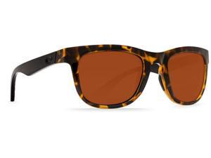 Costa Del Mar Copra Retro Tortoise With Black Temples Sunglasses Copper Lens 580P