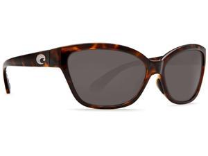 Costa Del Mar Starfish Retro Tortoise Sunglasses Grey Lens 580P