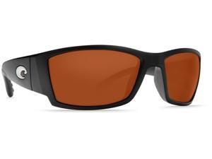 Costa Del Mar Corbina Matte Black Sunglasses Copper Lens 580P