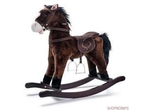 Joon Rocking Horse Pony, Dark Brown