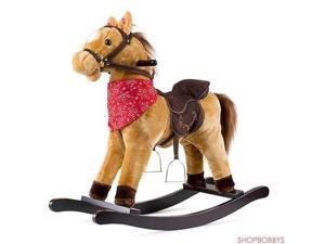 Cowboy Rocking Horse Pony Tan