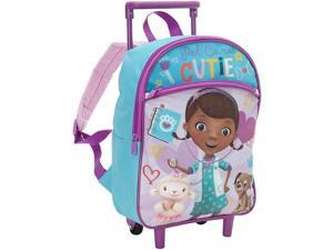 Disney Doc McStuffins Toddler Rolling Backpack, 12 Inches