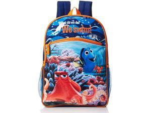"Disney Boy's Finding Dory ""We Swim!"" Backpack, 16 Inches"