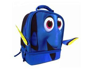 Disney Finding Dory Insulated Lunch Bag With Dual Compartment, Blue