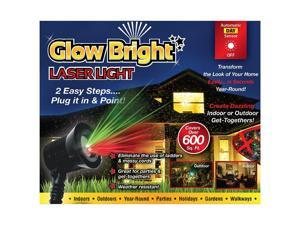 Glow Bright Laser Light Show With Remote, Tripod and Stake