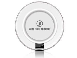 Wireless Charger ,MOPO Crystal Qi Wireless Charging Pad for Samsung Galaxy S7 / S6 / Edge / Plus, Note 5, Nexus and all Qi-Enabled Devices (Black)