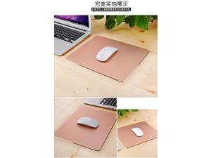 Mouse Pad  Gaming Aluminium Mouse Pad W Non-slip Rubber Base & Micro Sand Blasting Aluminium Surface for Fast and Accurate Control-Rose golden