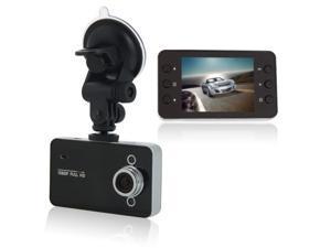 2.7 LCD HD 1080P IR Night Vision Blackbox Car DVR Video Recorder G-sensor K6000 Black