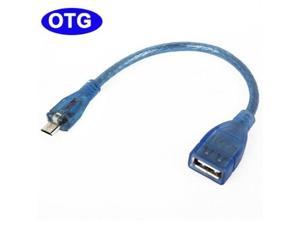 USB Host OTG Adapter Cable for Samsung Galaxy S IV / i9500 , Galaxy Note 2 / N7100 , Galaxy S III/ i9300, Galaxy S II / i9100, Galaxy Note / i9220 / N7000, Galaxy Nexus / i9250, Length: 19.5cm