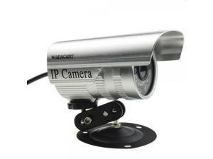 Popular Wanscam JW0011 Wireless Night Vision P2P Bullet Outdoor Network IP Camera Silver