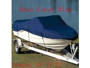 17' 18'19'V-Hull Fish/Ski Trailerable Boat Cover Waterproof Boat Cover