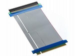 PCI-Express PCI-E 16X Riser Card Flexible Ribbon Extender Cable