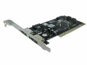 SATA & ESATA PCI Controller Card