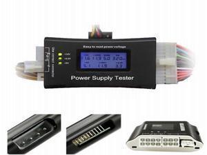 Digital LCD Power Supply Tester for PC  ATX/BTX/ITX 4Pin SATA HDD