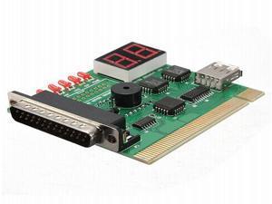 2 Digit USB PCI LPT Motherboard Diagnostic Analyzer Test Card For Laptop PC And Desktop