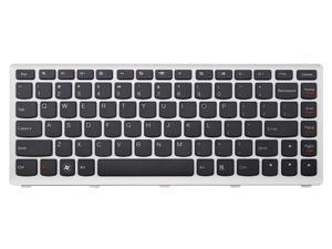 New laptop replacement keyboard for Lenovo U310 U310 Touch US layout with White frame