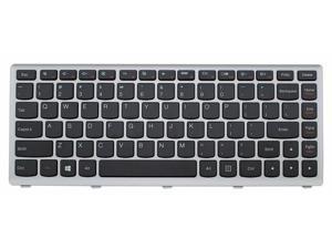 Laptop keyboard FOR Lenovo IdeaPad U410 series 25208924 AELZ8U01110 9Z.N7GSQ.401 T3C1-US , US layout black color