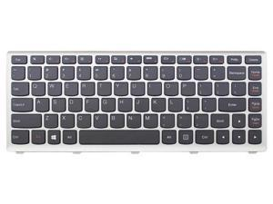 New laptop replacement keyboard for Lenovo U310 25208384 V-127920HS2-US series US layout with silver frame