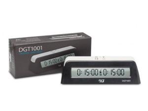 DGT 1001 Universal Chess Clock and Game Timer - Black/Blue