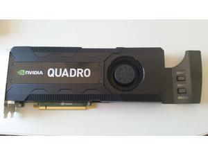 DELL NVIDIA QUADRO K5000 Graphic Video Card 4GB GDDR5 1536 CUDA RCFKT 1536 CUDA  - Bulk Packing