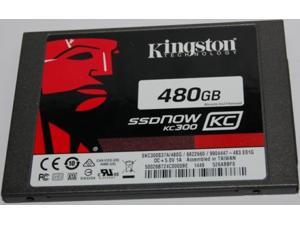 "Kingston SSDNow KC300 SKC300S37A/480G 2.5"" 480GB SATA III Enterprise Solid State Drive SSD - bulk packing"