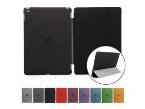 Slim Smart Magnetic Cover Case for Apple iPad 6 iPad Air 2 - Black