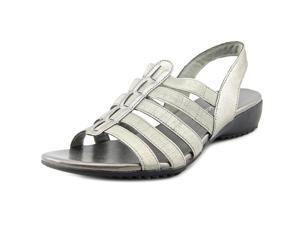 Easy Street Mandarin Women US 6.5 Gray Slingback Sandal