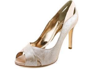 Alfani Lyrra Women US 11 Nude Peep Toe Heels