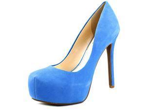Jessica Simpson Rebeca Women US 10 Blue Platform Heel