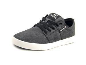Supra Stacks II Men US 8.5 Black Sneakers