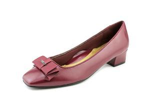 Soft Style by Hush P Sharyl Women US 8 Burgundy Heels