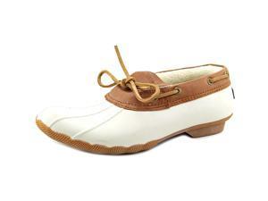 Sperry Top Sider Cormorant Waterproof Women US 6 Ivory Boat Shoe