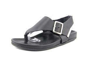 Emozioni W1390 Women US 6 Black Thong Sandal EU 37