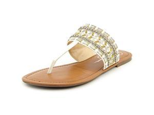 Jessica Simpson Rubenson Women US 11 White Thong Sandal