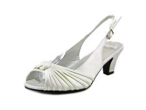 Beacon Luxe Women US 8 Ivory Slingback Sandal