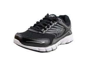 Fila Memory Maranello 4 Men US 9 Black Running Shoe