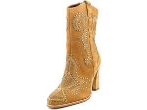 Donald J Pliner OLIVIA SPOL Women US 7.5 Tan Mid Calf Boot