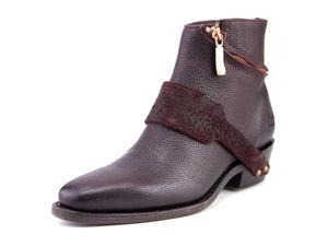 John Fluevog Pirata Women US 7 Burgundy Western Boot