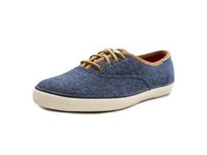 Keds Champion Felt Women US 5.5 Blue Sneakers