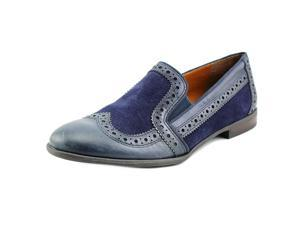 Franco Sarto Tibby Women US 6.5 Blue Wingtip Loafer