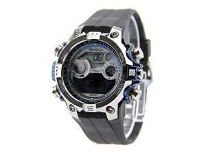 Armitron 40/8251 40/8251-BLU Plastic Black Men Watch