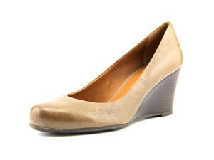 Franco Sarto Rina Women US 11 Brown Wedge Heel