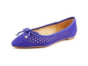 Franco Sarto Shari Women US 10 Blue Ballet Flats