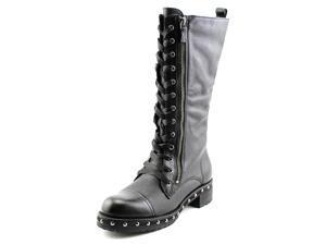 DKNY Halen Women US 6.5 Black Mid Calf Boot UK 4 EU 37